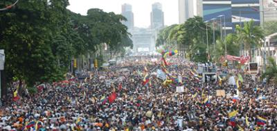 Ironía décima --- No todo Caracas era orégano